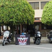 Frente do Restaurante