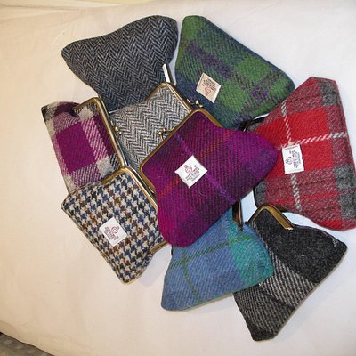 Harris Tweed purses