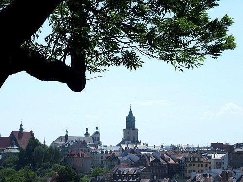 Вид от Костёла Св.Михаила в Люблине