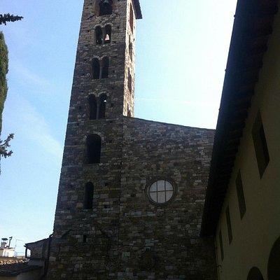 Pieve di S.Giovanni Battista a Remole, facciata