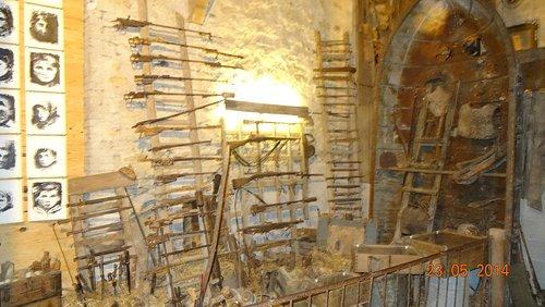 Museum battlefeld relics