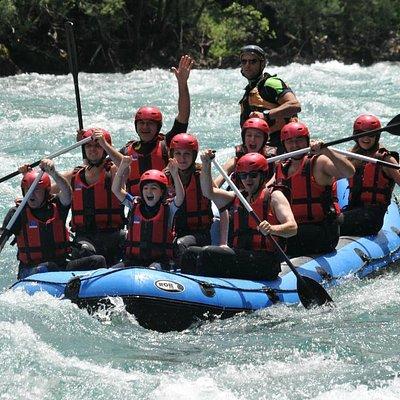 Rafting on Tara river
