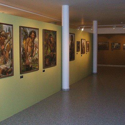Exhibit of paintings by Czech artist, Zdeněk Burian