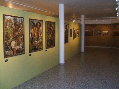 Exhibit of paintings by Czech artist, Zdeněk Burian