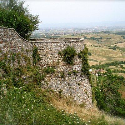 Montefollonico vista panoramica