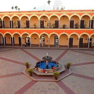 El Palacio Municipal fue construido hacia finales del siglo XIX y principios del XX.
