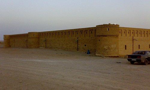 Maranjab Karvansara (acient motel) in Maranjab Desert