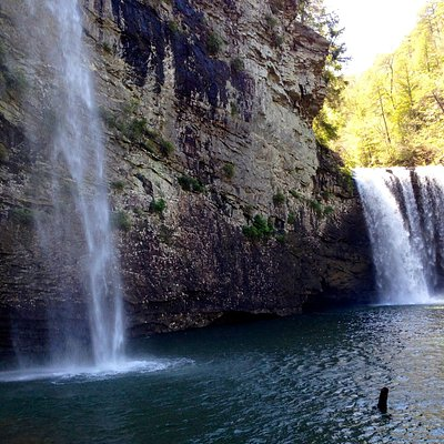 Cane Creek Falls (reach by Cable Trail)