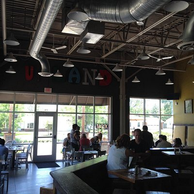 Upland bar and tasting room