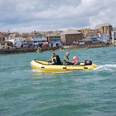 Brilliant way to see the bays & beaches in st Ives and dolphins too