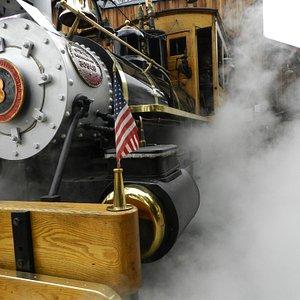 Operating Steam Engine