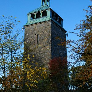 Bytårnet in Moss. You can enter the tower and watch the town.