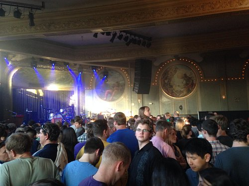 Crystal Ballroom: Gorgeous Venue