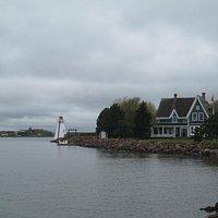 Lighthouse at end of boardwalk