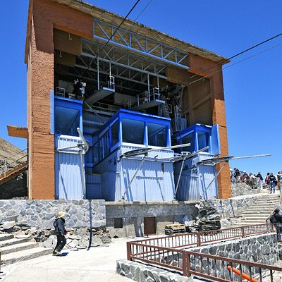 Teleférico del Teide - estación (Teide cable car station)
