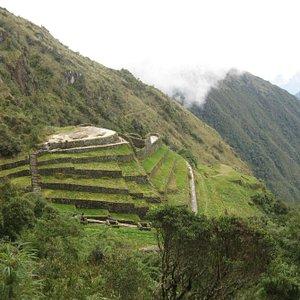 Approaching Puyapatamarca