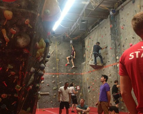 Climbing walls, easy to advanced