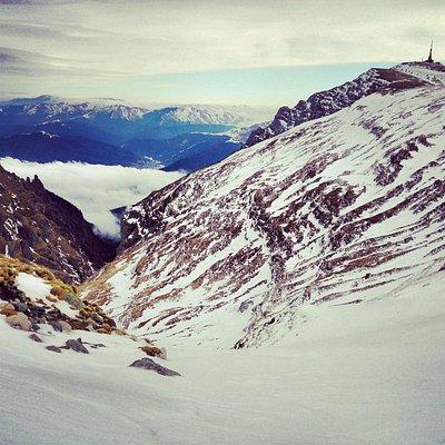 Bucegi Plateau, view from Omu Peak