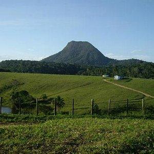 Vista do monte Pascoal
