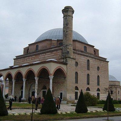 The very impressive Mosque