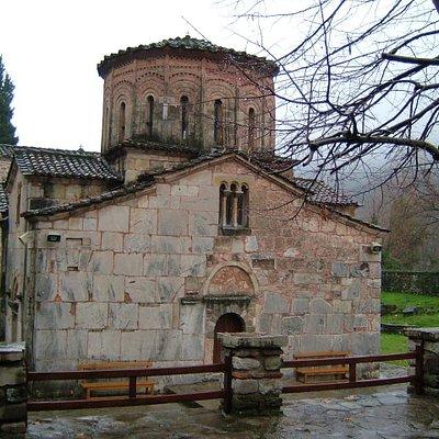 Side elevation of Porta Panagia