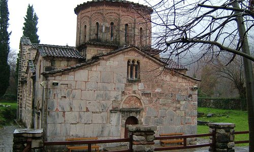 Side elevation of Porta Panagia