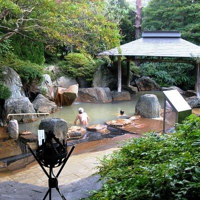 Kagaribi no Yu Ryokusuitei - rotemburo