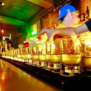 Special Lemon Vodka shots