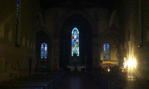 Convento Francescano di San Francesco, interno della chiesa