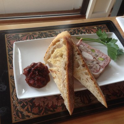 Chicken and Pork Terrine with Tomato & Pepperberry Chutney