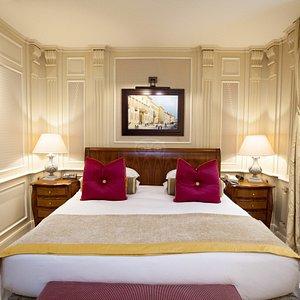 The Classic Room at the Hotel Principe Di Savoia