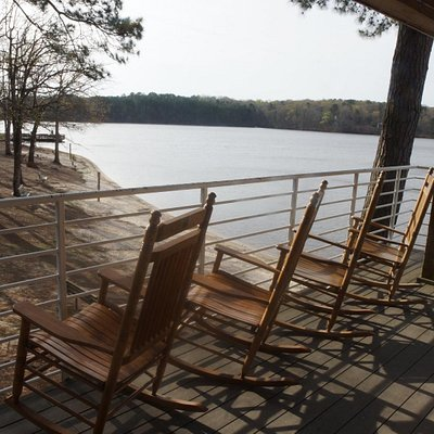 rocking chairs to rest and relax