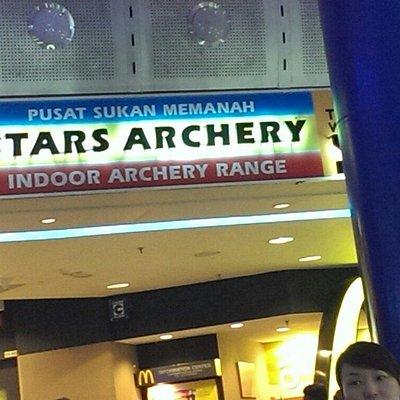 Stars archery times square kl