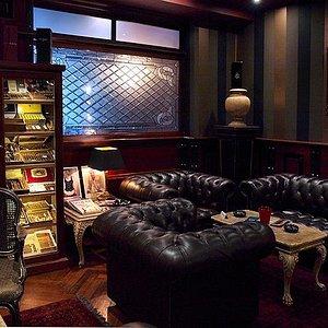 Cigar room...