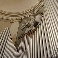 Altorilievo - San Giorgio che trafigge il drago