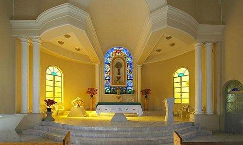 Beautiful light illuminates inside