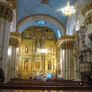 Interior of Monasterio de Carmen Alto
