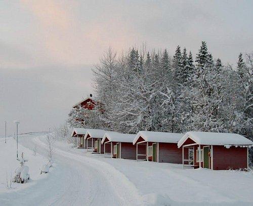 замёрзшие домики