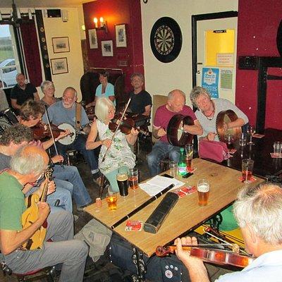 Irish music night every 1st sunday of the month