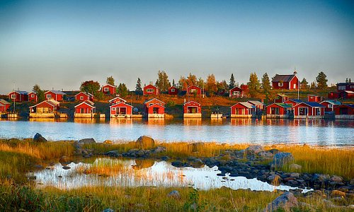 The Islands of Swedish Lapland