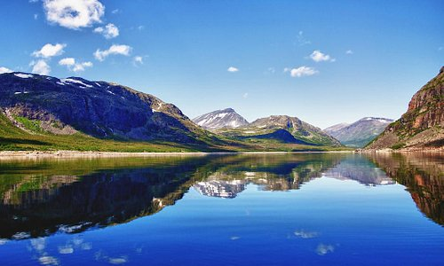 The Lakes of Swedish Lapland