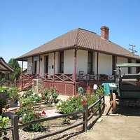 1886 Verlaque adobe home fully furnished in period antiques, including Doctor's Office & basemen
