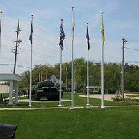 Veterans Memorial Park     668 West Palmyra (US Route 2), Dixon, IL 61021