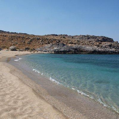 Bella spiaggia molto tranquilla