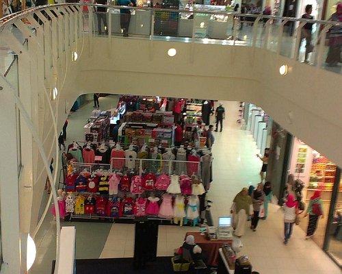 from upper floor view