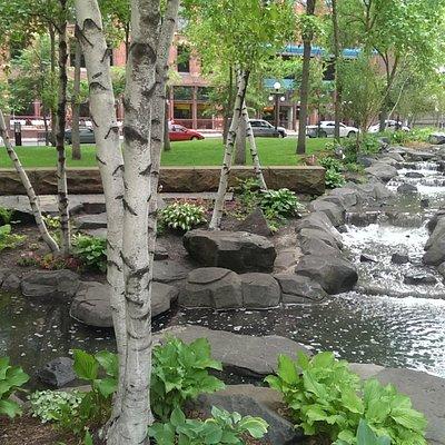 Mears Park in Summer (SE)