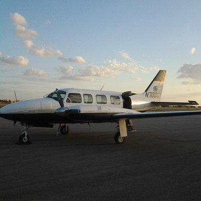Flight on Treasure Air