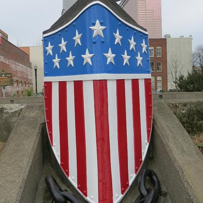 Stars & Bars Breast Plate