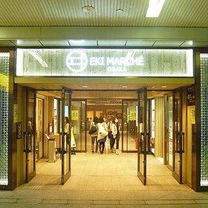 桜橋口改札側入口