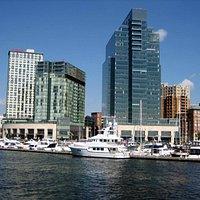 Baltimore Hafen und Skyline